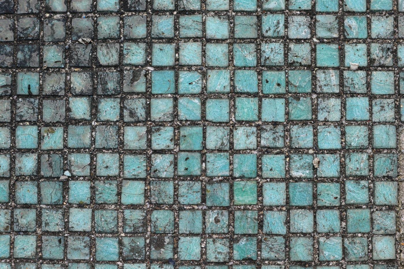 Dirty Mosaic Squares: Stock Photos