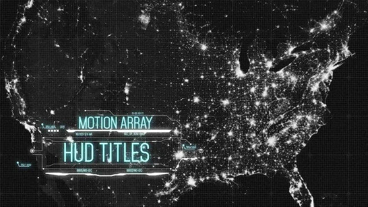 HUD Titles: After Effects Templates