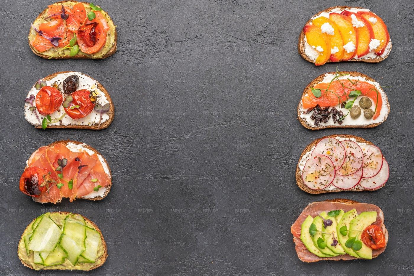 Homemade Sandwiches: Stock Photos