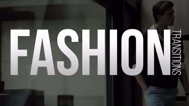 Fashion Transitions: Premiere Pro Templates