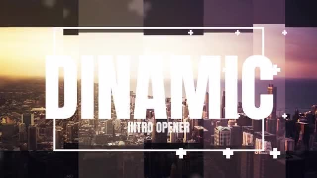 Dynamic Intro Opener: Premiere Pro Templates