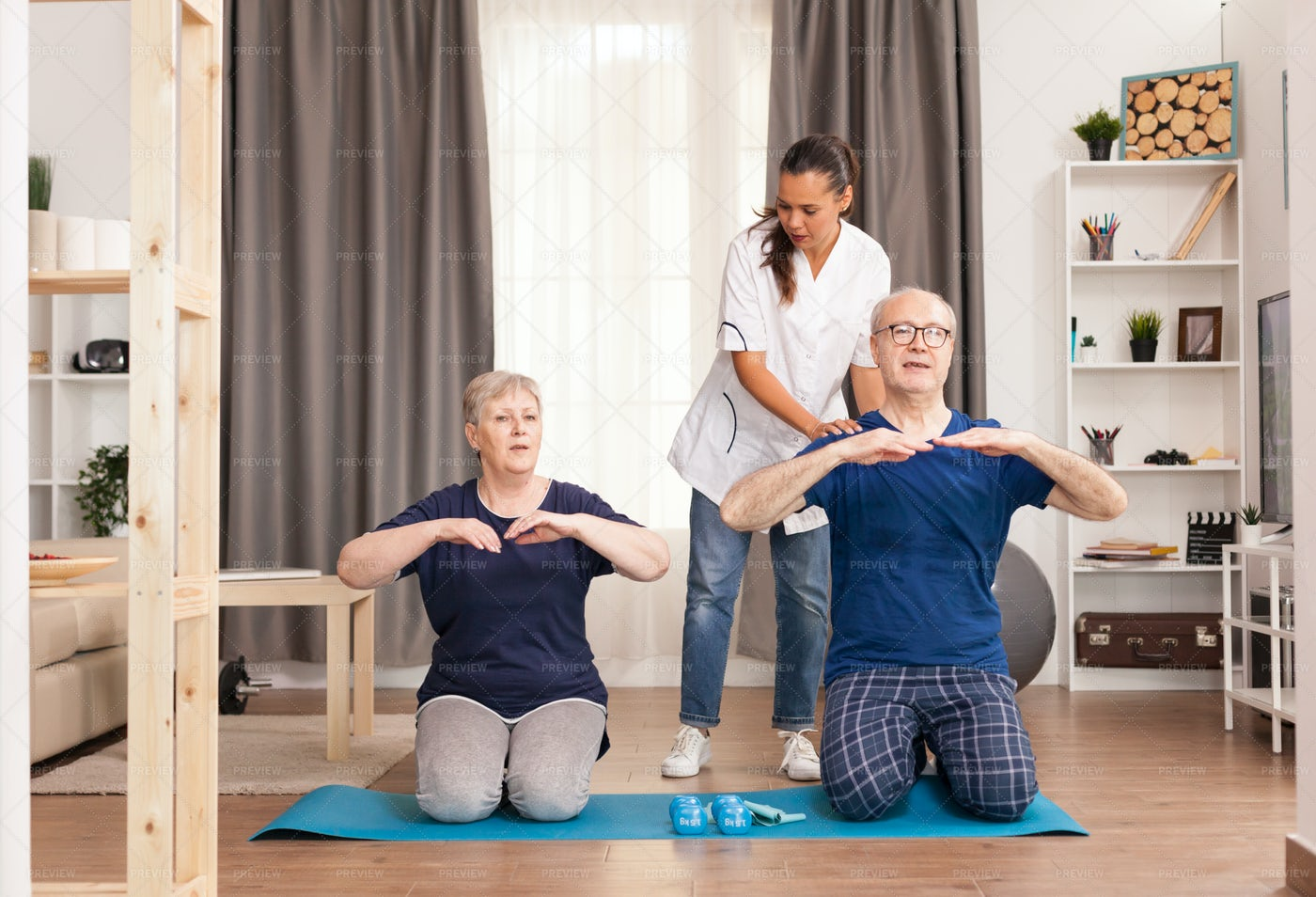 Physical Therapy: Stock Photos