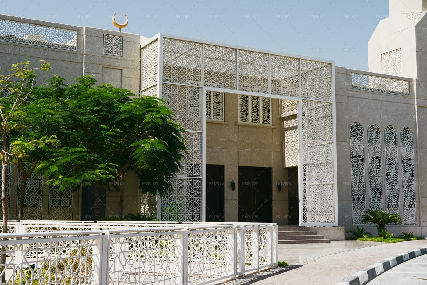 Architecture In Abu Dhabi: Stock Photos