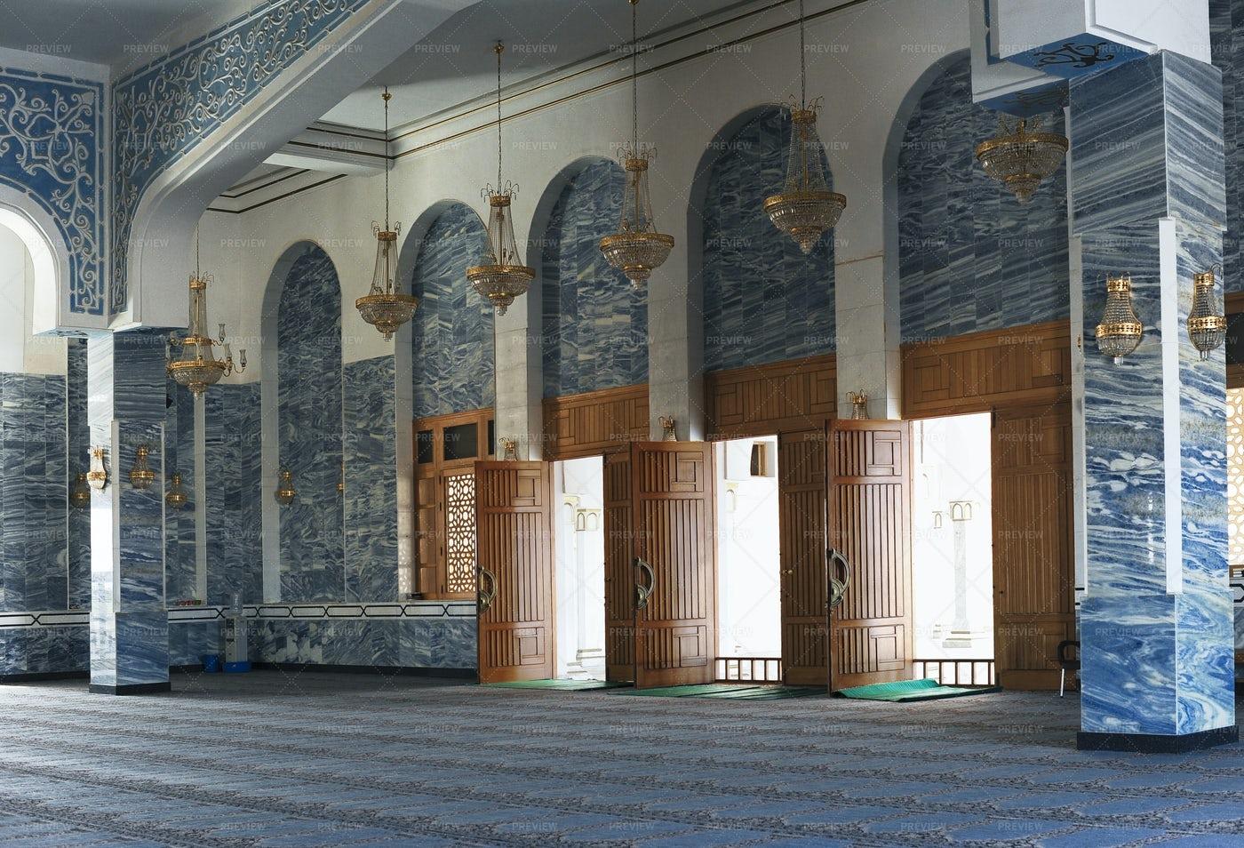 Mosque Entrance Hall: Stock Photos