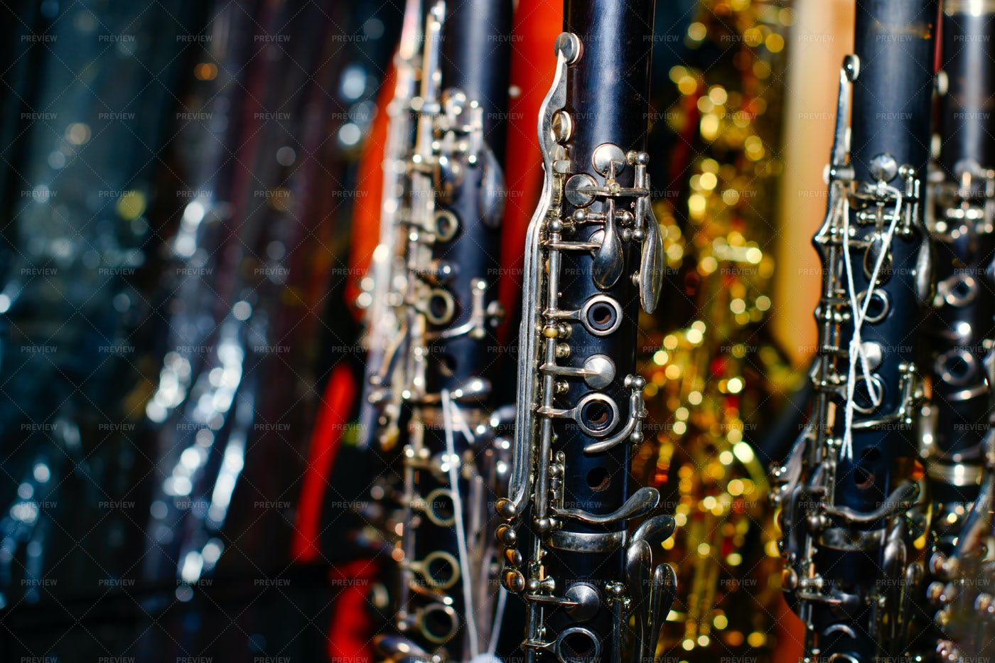 Clarinets: Stock Photos