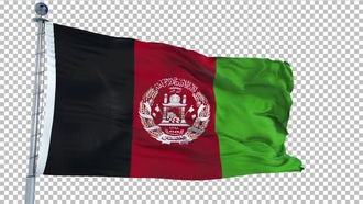 Afghanistan Flag Animation: Motion Graphics