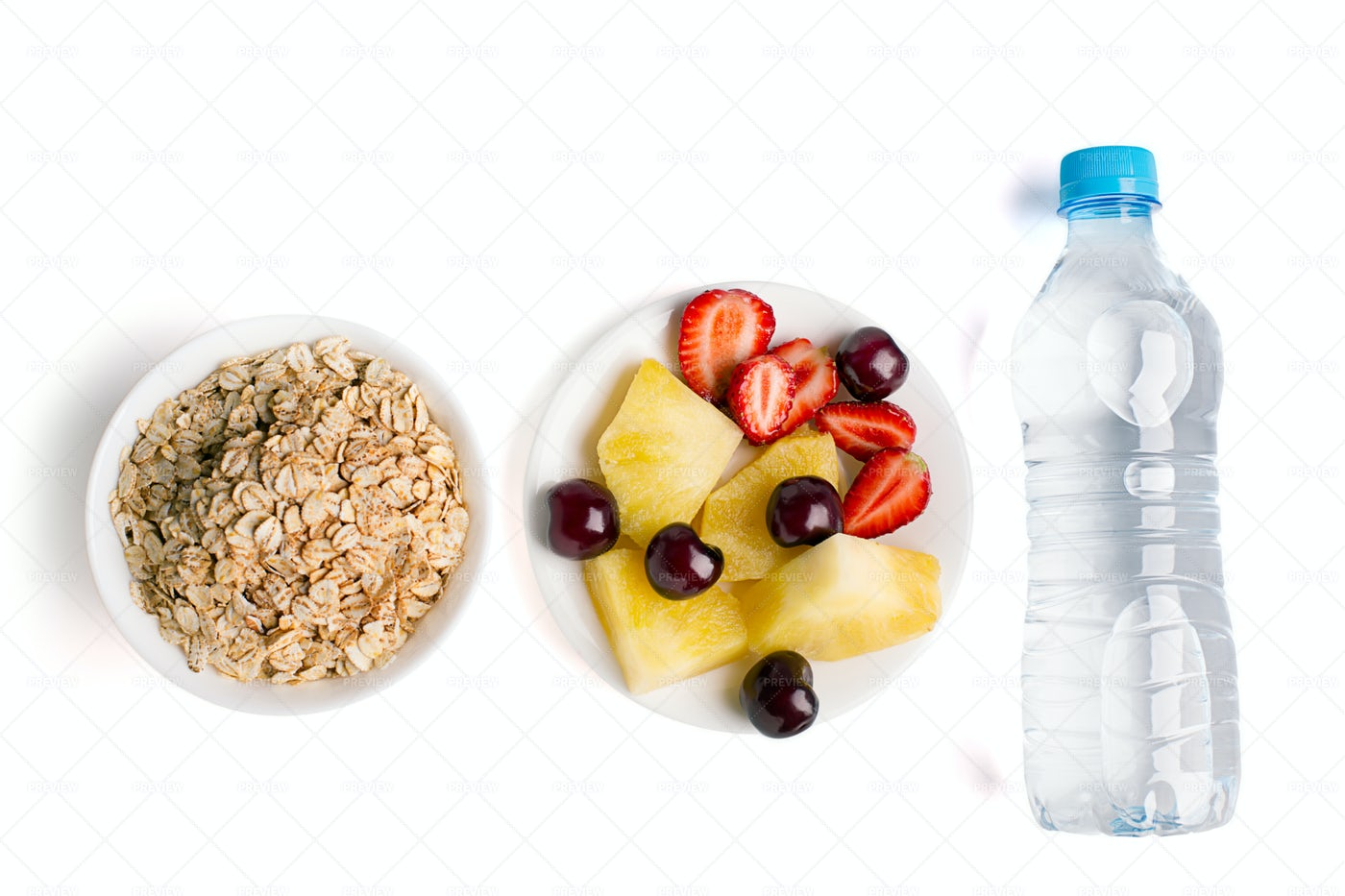 Dieting Breakfast: Stock Photos