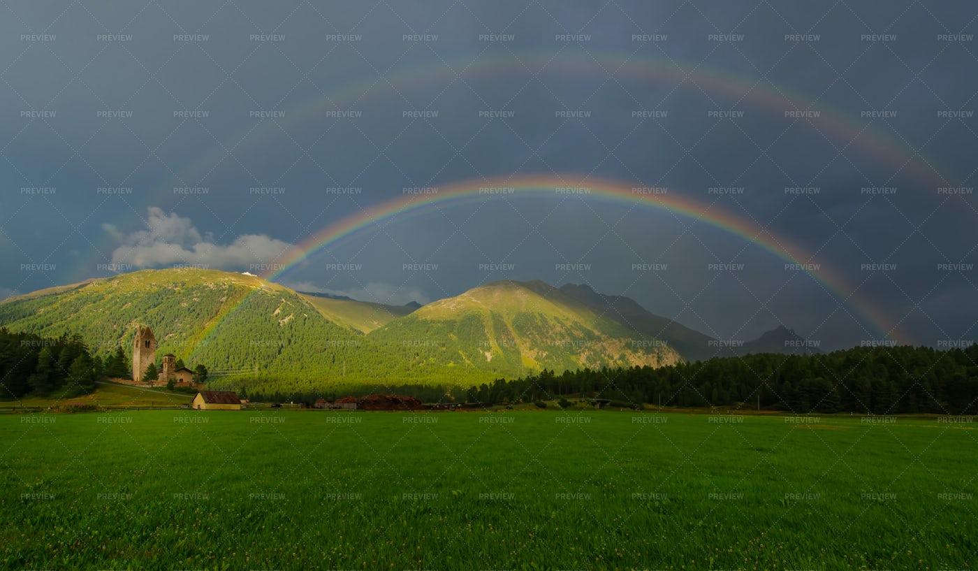 Double Rainbow: Stock Photos