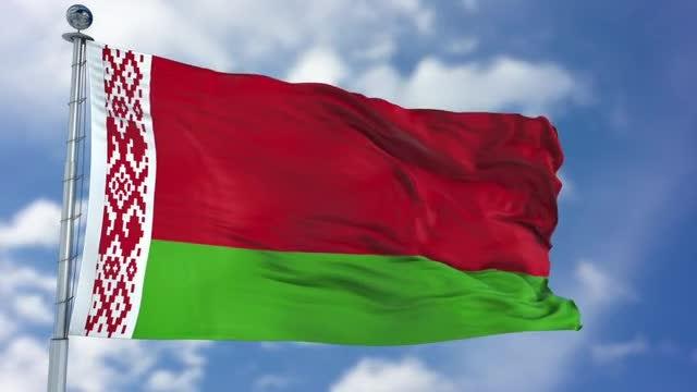 Belarus Flag Animation: Stock Motion Graphics