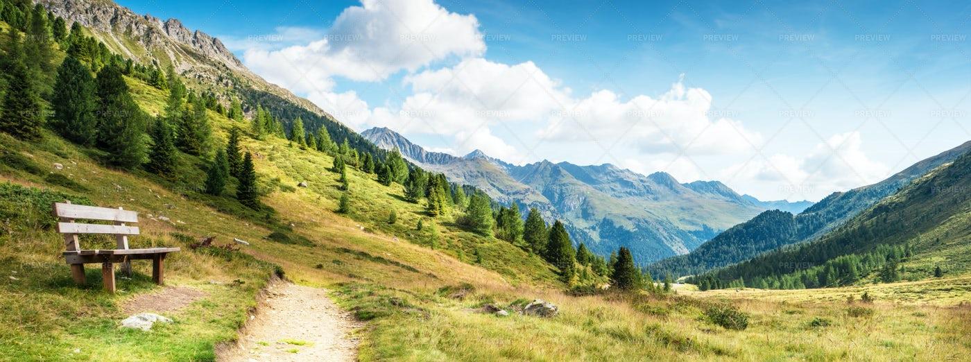 Mountain Panorama: Stock Photos