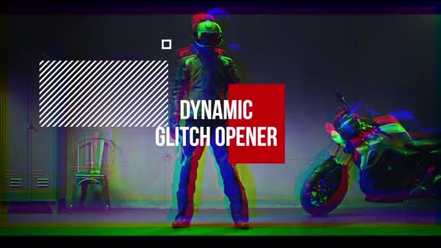 Dynamic Glitch Opener: Premiere Pro Templates