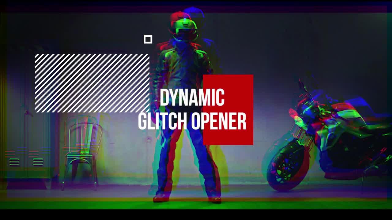 Dynamic Glitch Opener - Premiere Pro Templates 73121