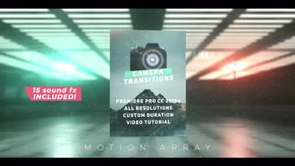Camera Transitions Presets: Premiere Pro Templates