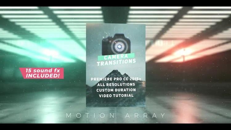 Camera Transitions Presets: Premiere Pro Presets