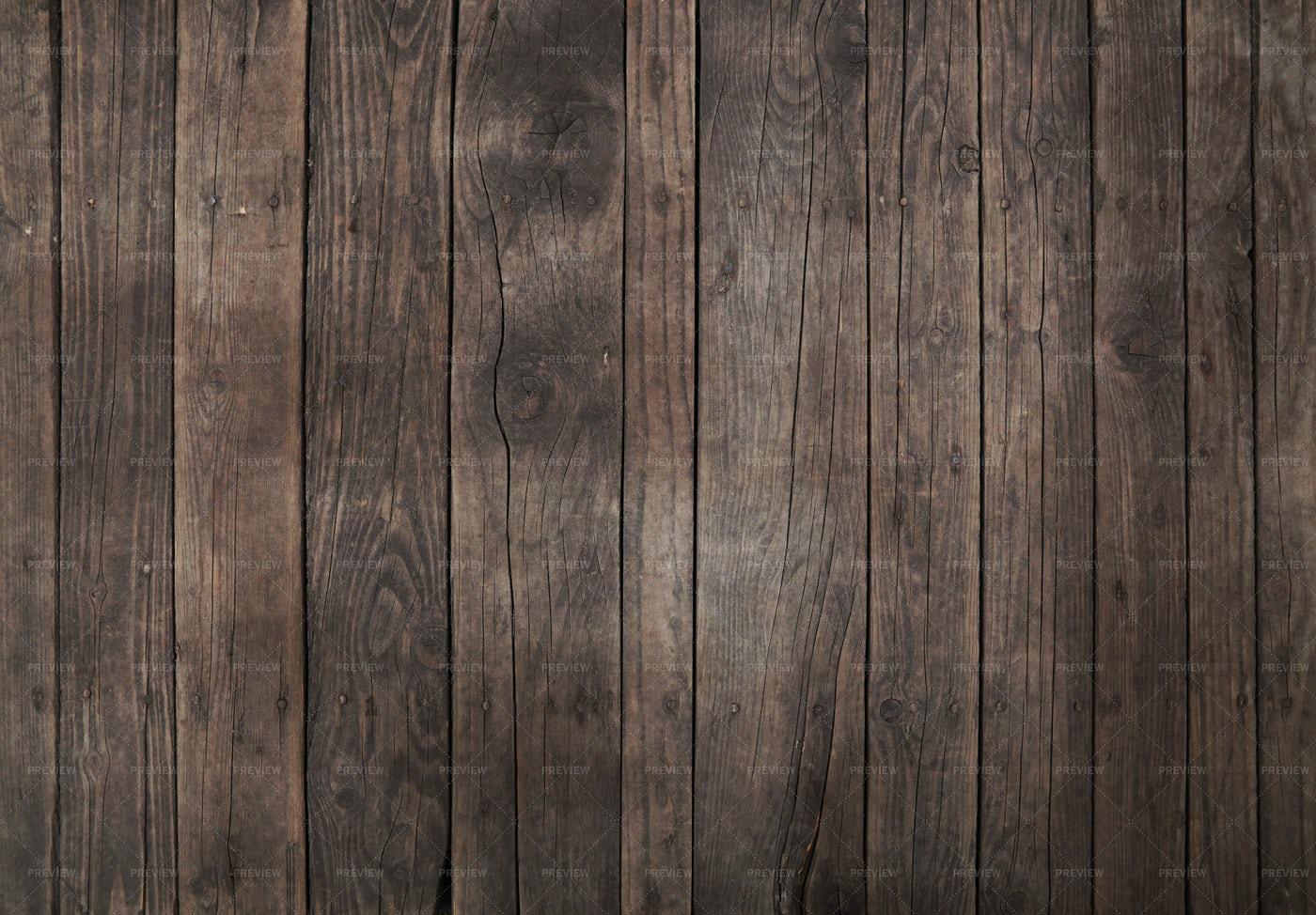 Dark Brown Wooden Planks: Stock Photos