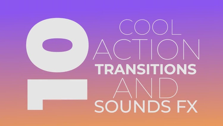 Cool Templates | Cool Action Transitions Premiere Pro Templates Motion Array