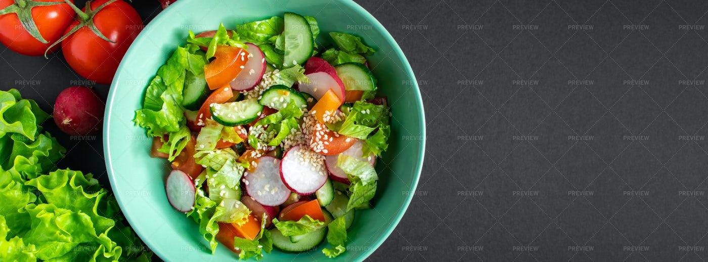 Seasonal Vegetable Salad: Stock Photos