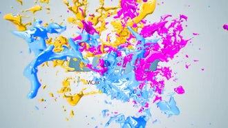 Paint Splash Logo: After Effects Templates