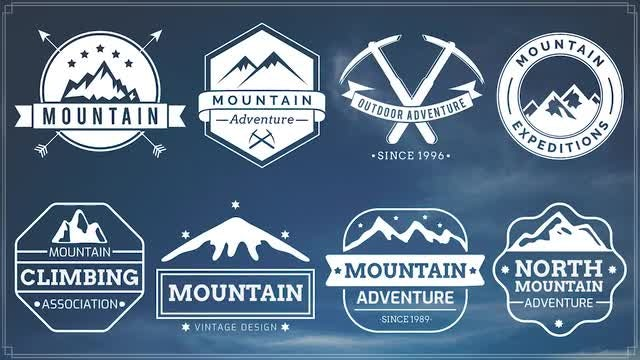 Grand Mountains: After Effects Templates