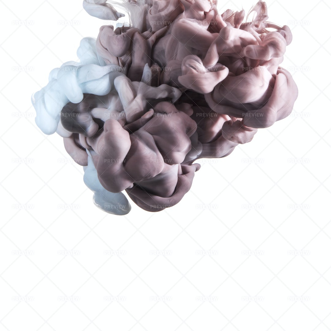 Ink In Water: Stock Photos