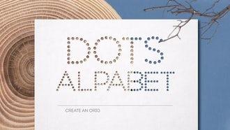 Dots Alphabet: After Effects Templates