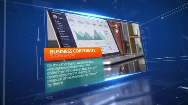 Digital Business Opener: After Effects Templates