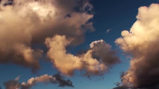 Sunset Timelapse Epic Clouds: Stock Video