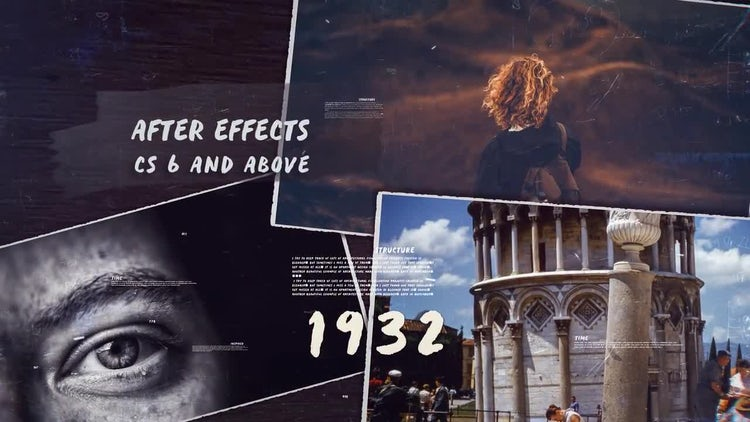 History Timeline III: After Effects Templates