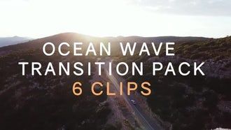 Ocean Wave Transition Pack: Stock Motion Graphics