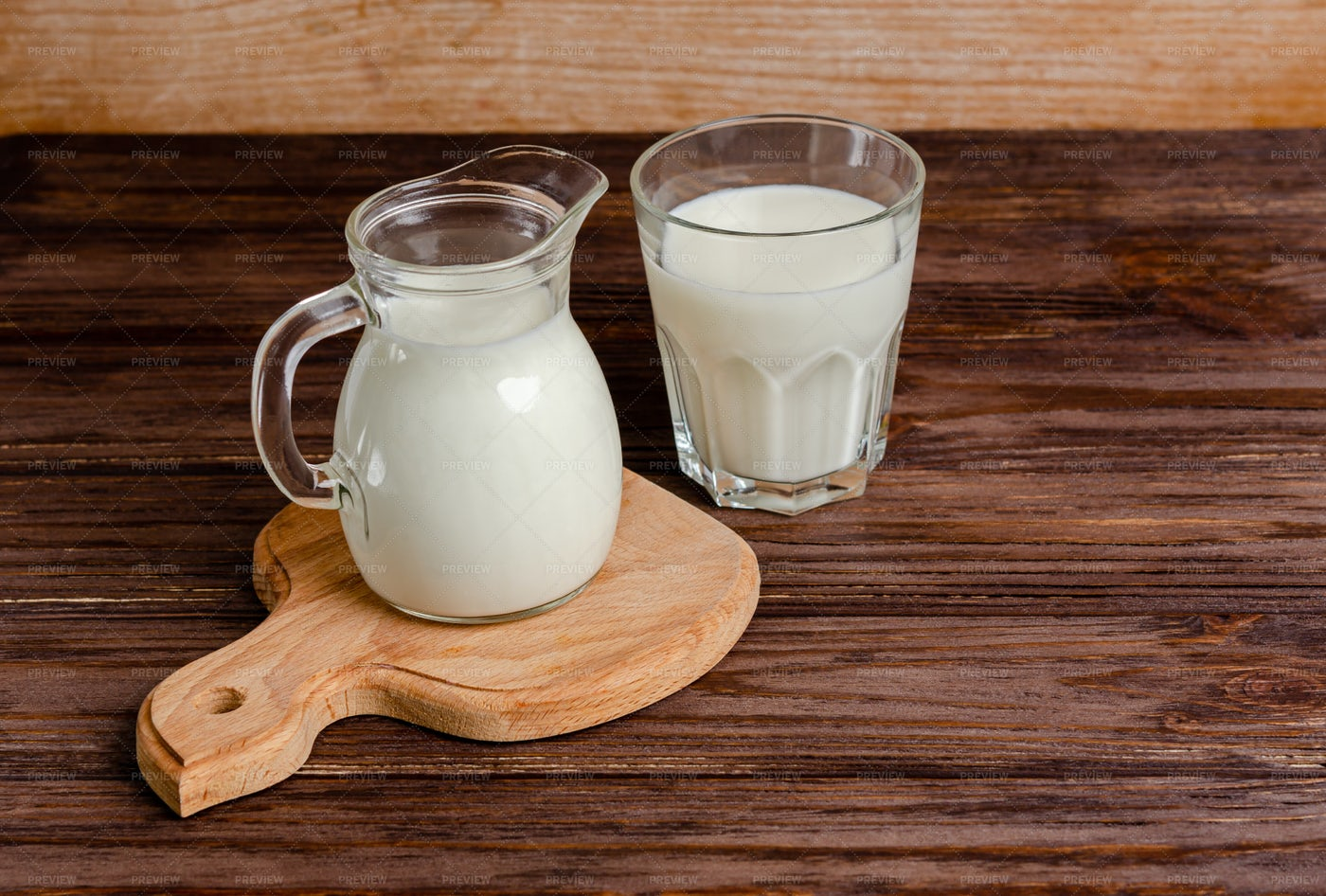 Healthy Milk Products: Stock Photos