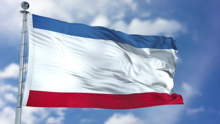 Crimea Flag Animation: Stock Motion Graphics