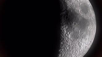 Moon Shadow Movement: Motion Graphics