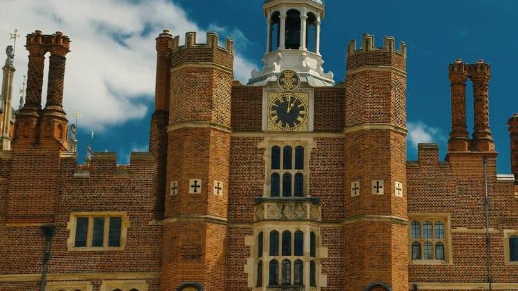 Hampton Court Palace, London, England, UK: Stock Video
