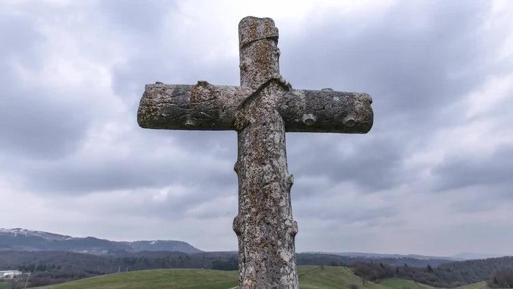 Cross: Stock Video