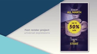 Instagram Stories Promo #2: After Effects Templates