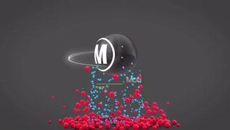 3D Balls Logo Reveal : After Effects Templates