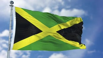Jamaica Flag Animation: Motion Graphics