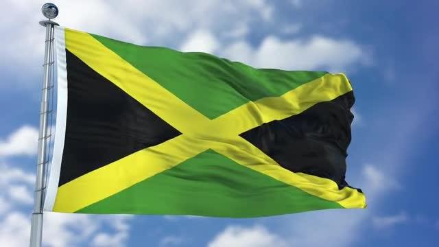 Jamaica Flag Animation: Stock Motion Graphics