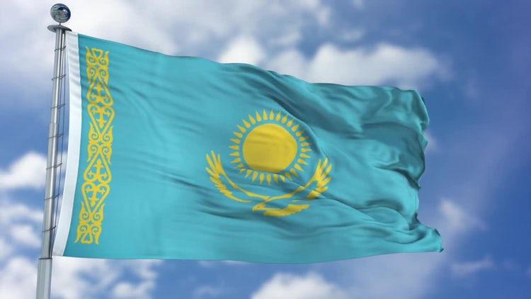 Graafix!: Animated Flag of Kazakhstan |Kazakhstan Animation