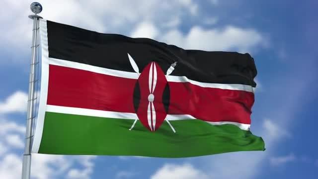 Kenya Flag Animation: Stock Motion Graphics