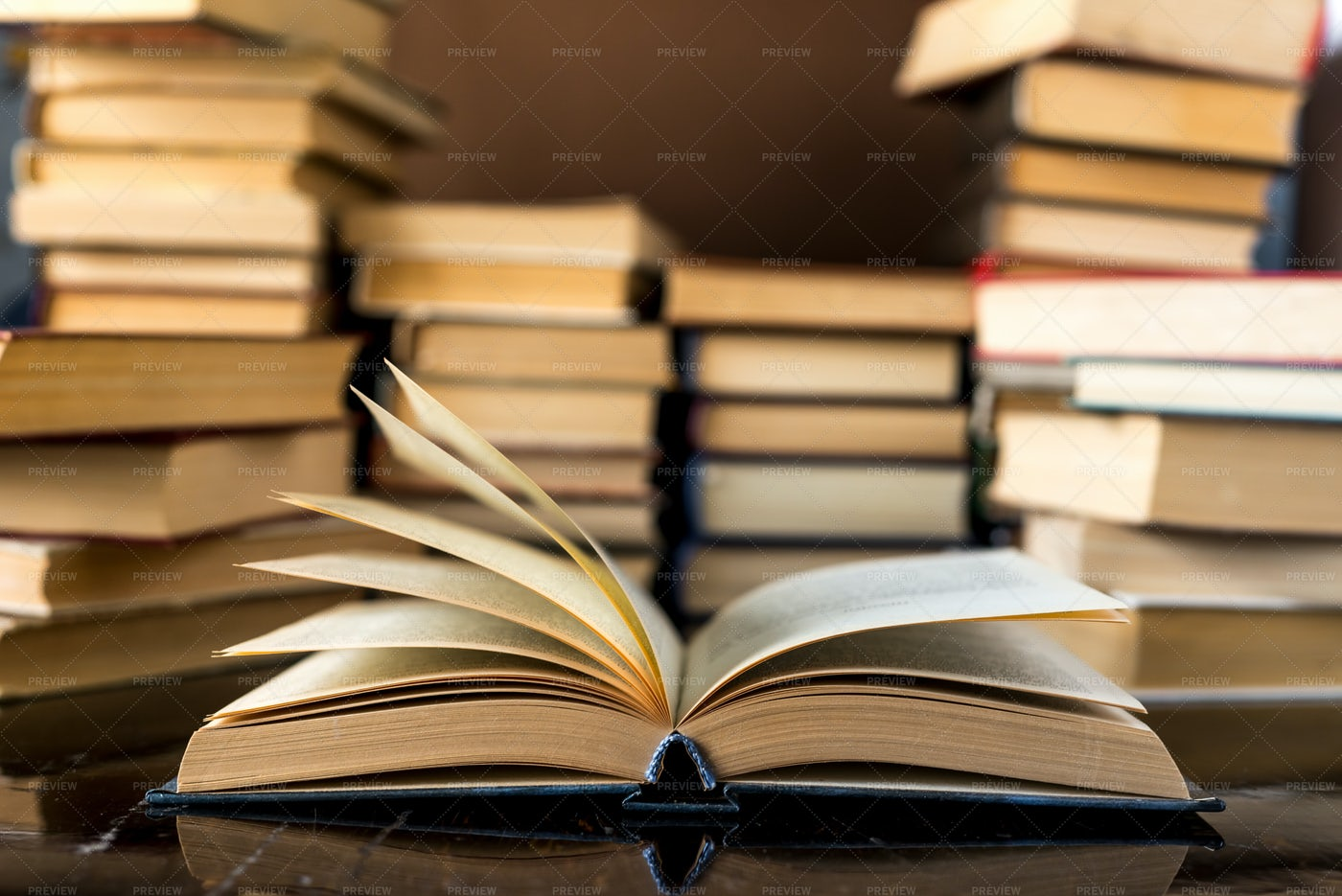 Stack Of Books: Stock Photos
