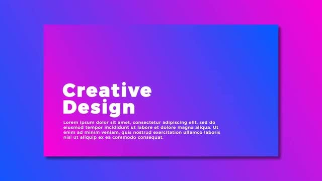 Modern Typography Animation: Motion Graphics Templates