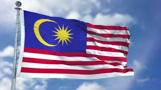 Malaysia Flag Animation: Stock Motion Graphics