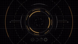 Futuristic Drone Interface: Motion Graphics