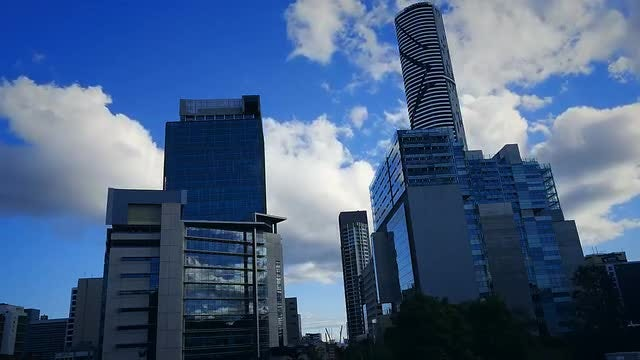 Brisbane City  Buildings: Stock Video