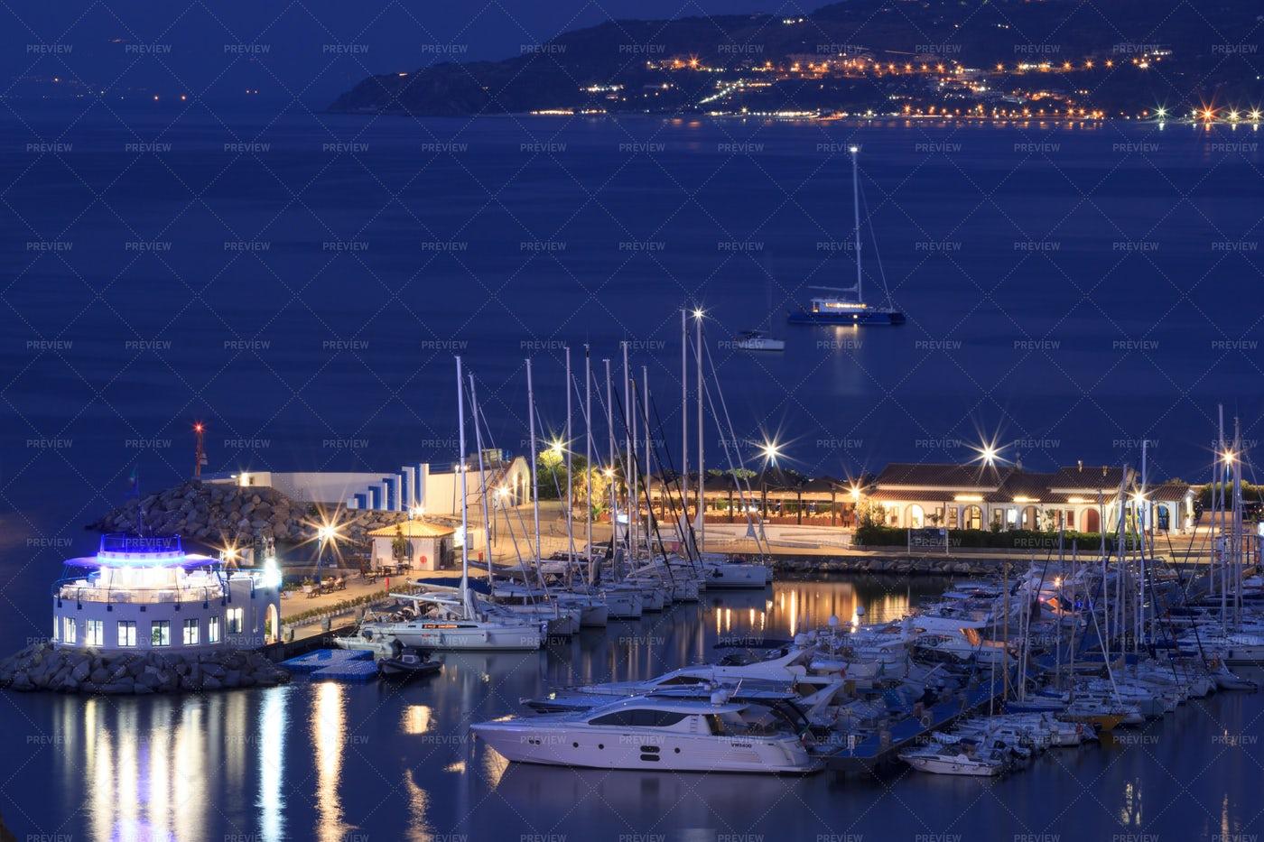 Tropea Yacht Port: Stock Photos