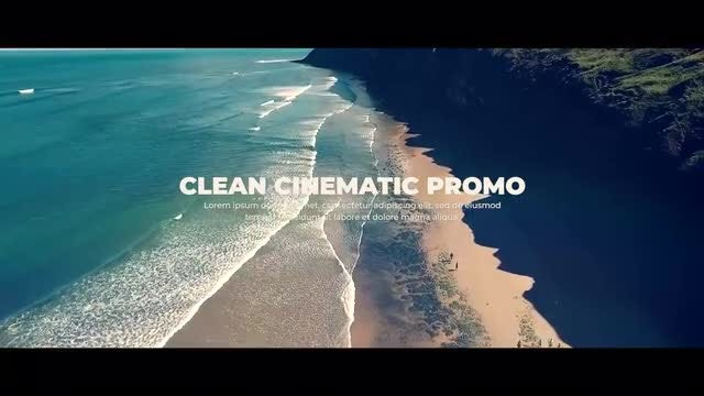 Clean Cinematic Promo: Premiere Pro Templates