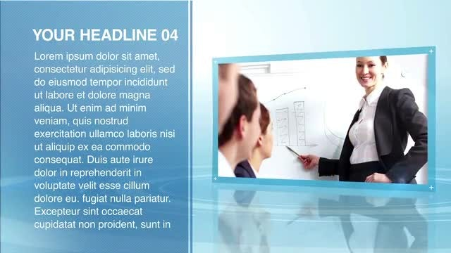 Corp Presentation: After Effects Templates