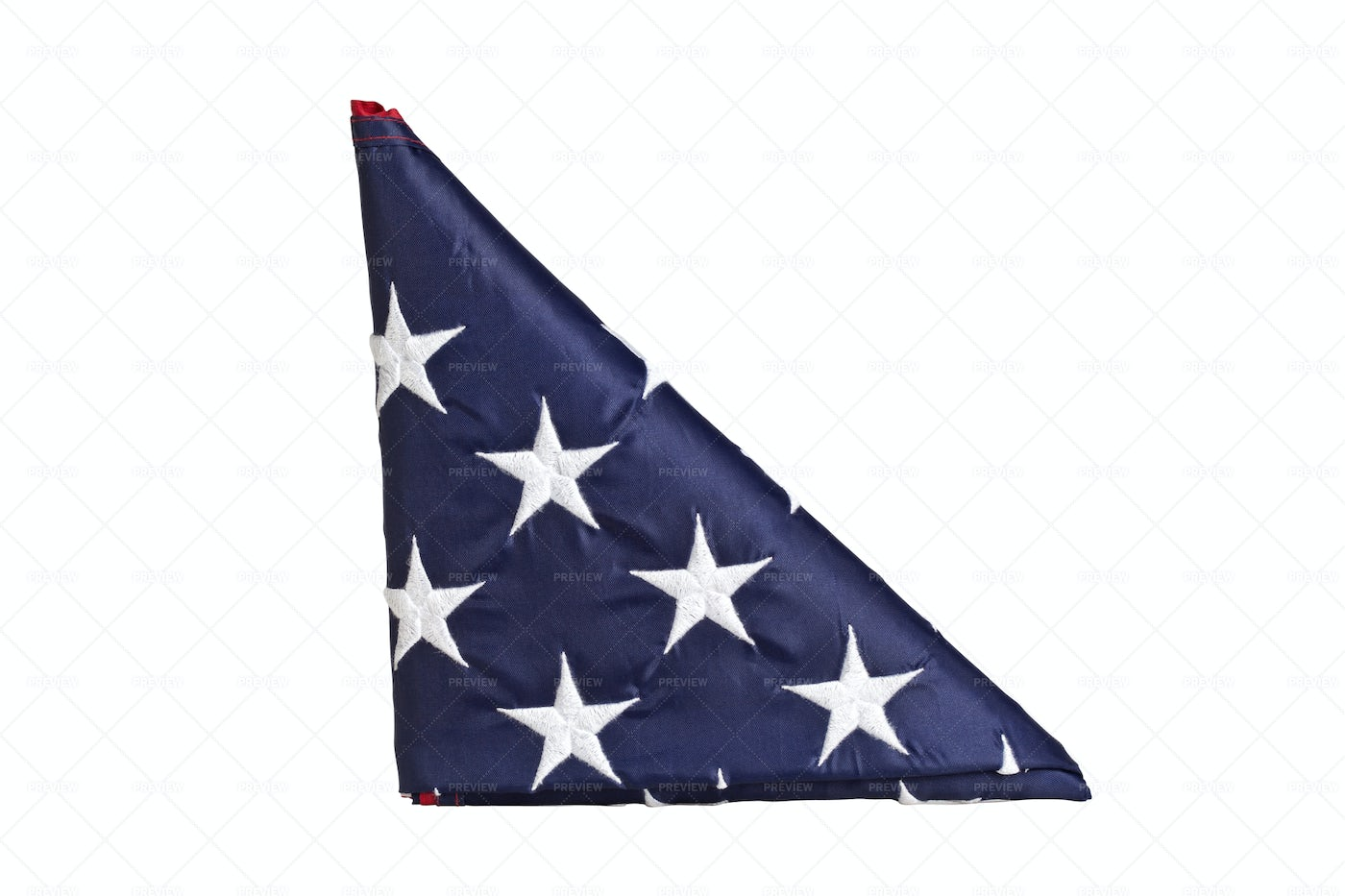 Old Glory Triangle: Stock Photos