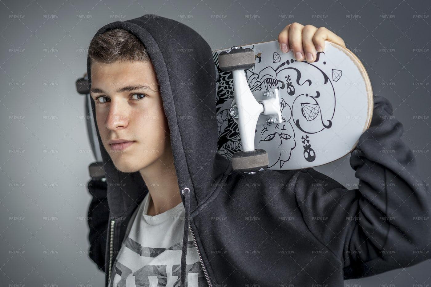 Confident Skater: Stock Photos
